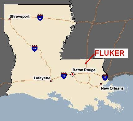 Location of Fluker